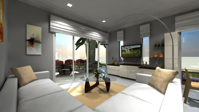 Do 48d And 48d Interiorexterior Modeling And Designs By Akintunde484848 Beauteous 2D Interior Design Exterior