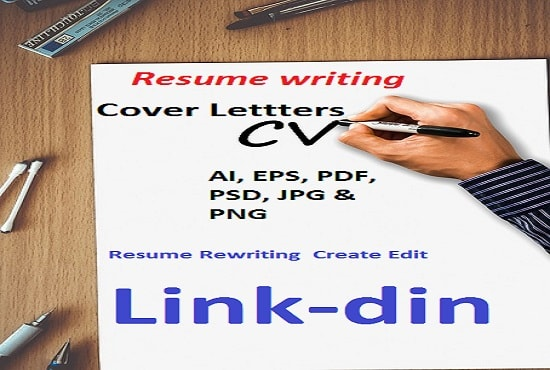 rewrite edit create professional resume cover letter by tahirgardezhi