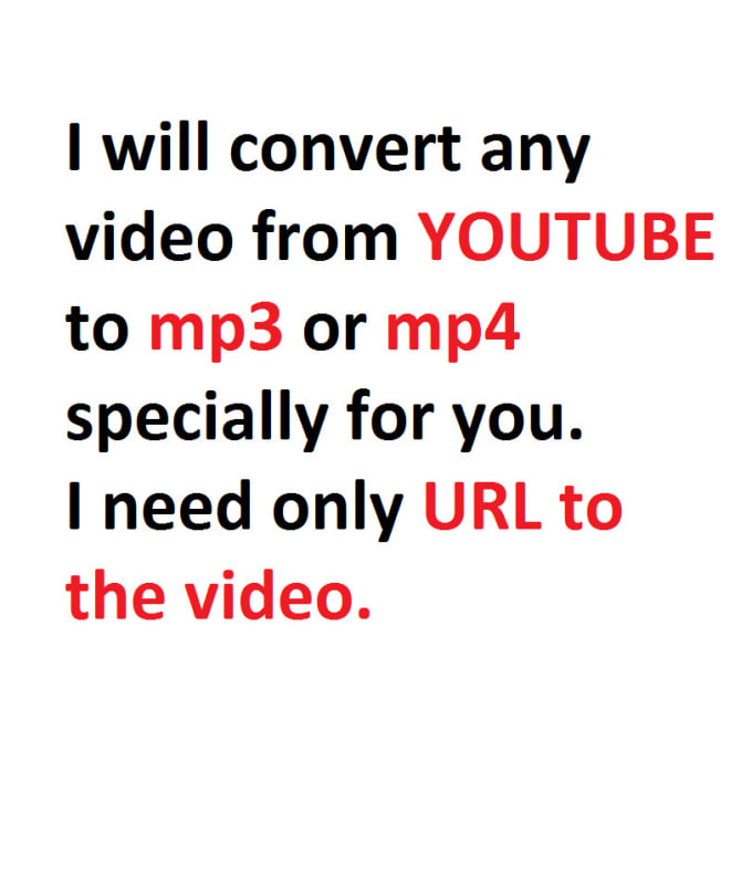convert youtube video to mp3 or mp4