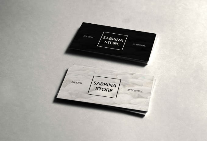 Create Any Type Of Business Card By Cyrinebahri
