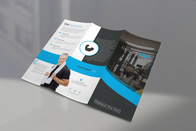 making a trifold brochure