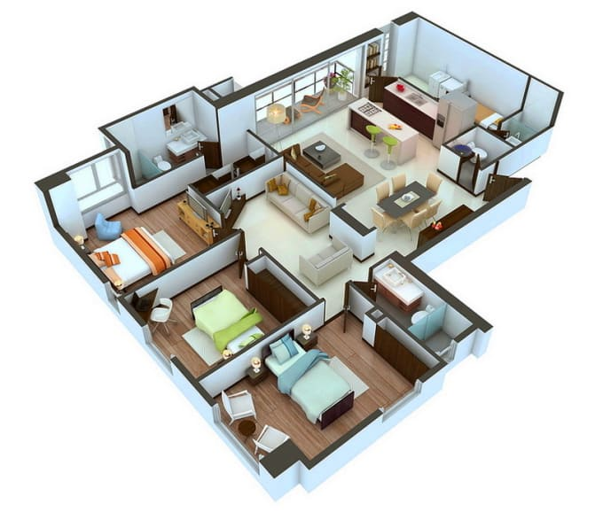 Lovely Design Your House Map In 3d