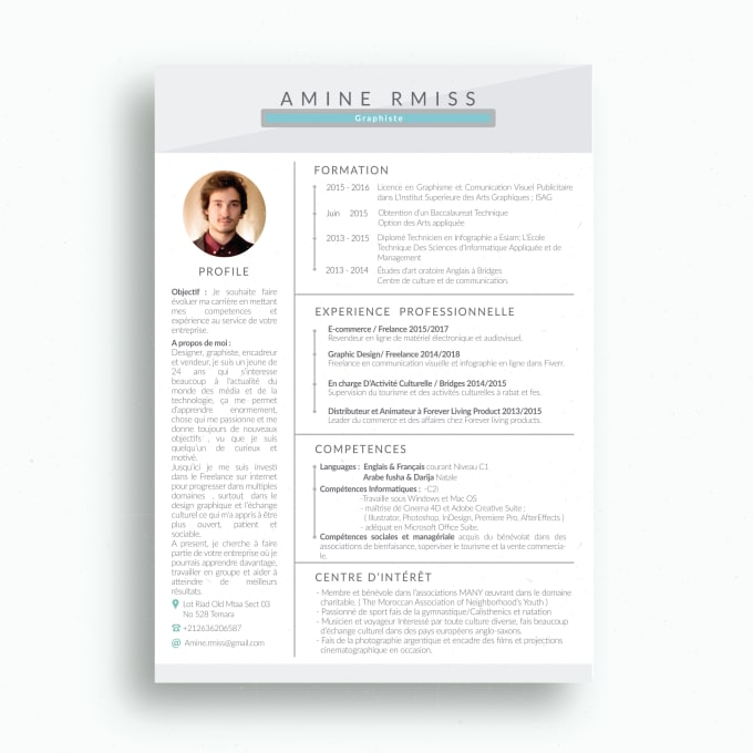 Design for you the best resume you can possibly imagine by aminermiss design for you the best resume you can possibly imagine altavistaventures Gallery