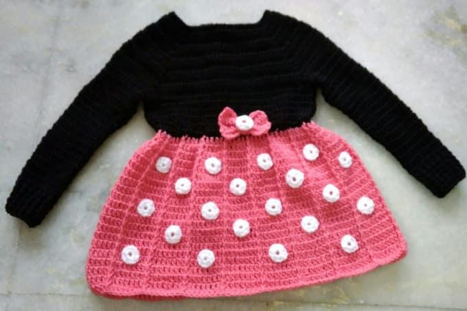 d3b2f59fb Crochet handmade baby dress by Bapimamuni83