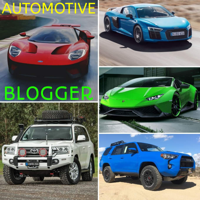 Be A Blogger Of Articles For Cars And Suvs For Your Site Or Blog By