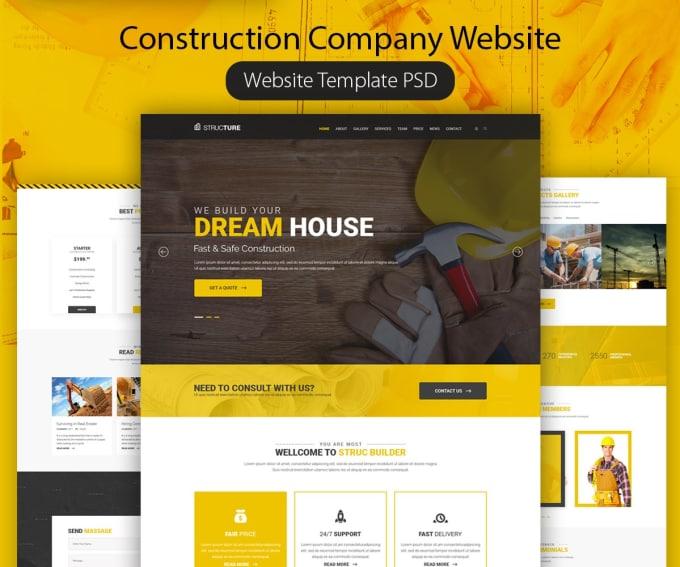 Design Eye Catching Web Mobile Ui Psd Template By Royal Reza