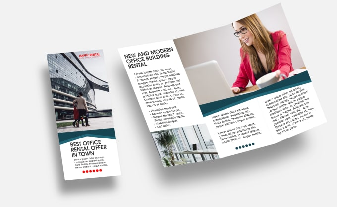 do a clean simple flyer and brochure design