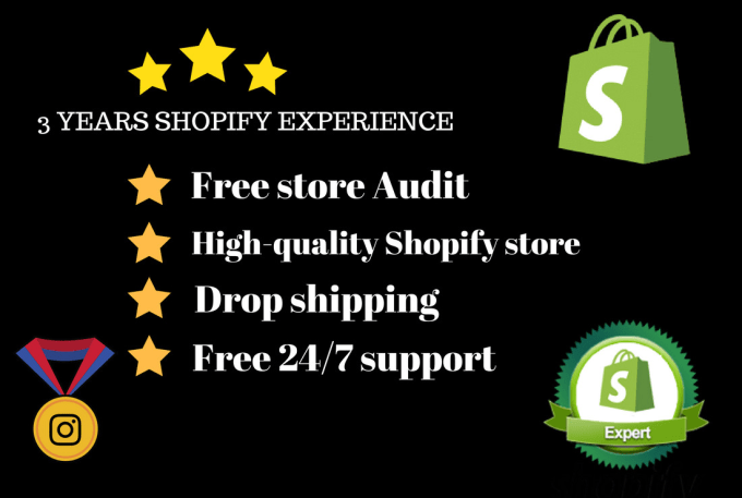 setup,customize, and improve your shopify store