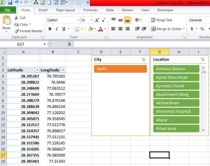 shaikshafi648 : I will advance excel work, data analyzing, pivot table,  slicers for $40 on www fiverr com
