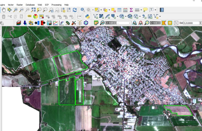 do anything you need on arcgis or qgis
