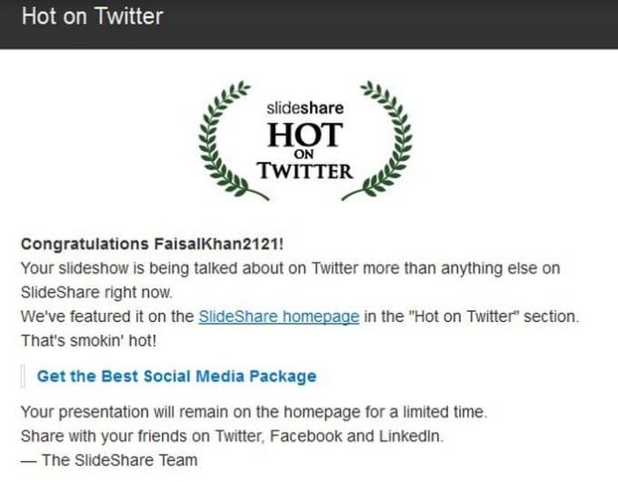 faisalkhan2121 : I will upload 1 SEO optimized presentation on slideshare  for $5 on www fiverr com
