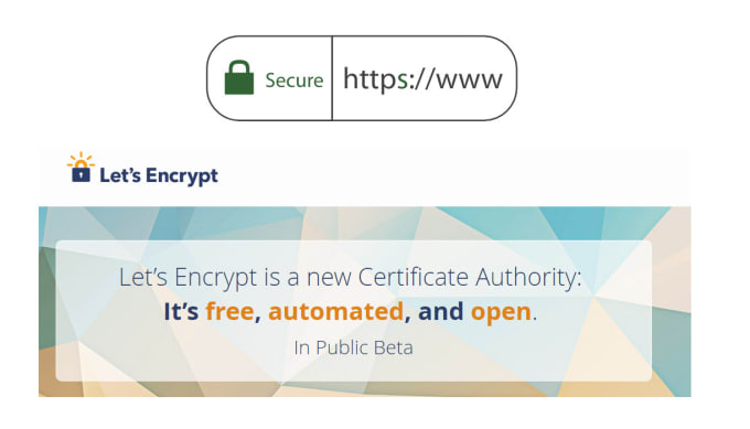 install free SSL https certificate for your websites