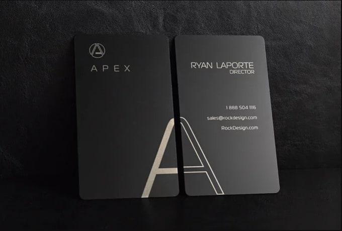how to create a business card v card