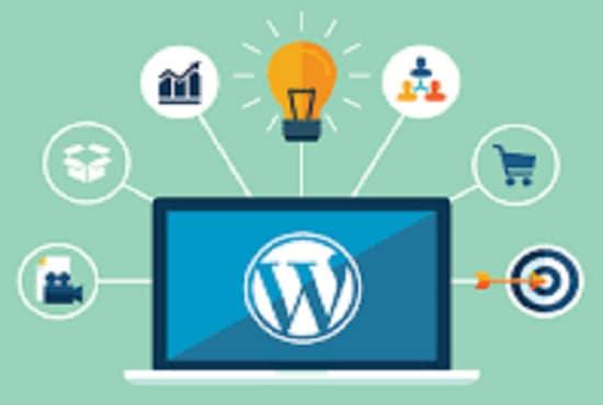 make wordpress or blogger websites for you in a short time