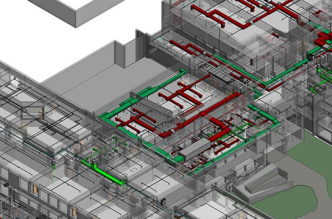 draw electrical building designs using autocad electrical, revit mep