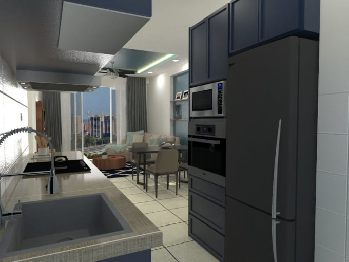 3d Render Your Home Interior At A Very Reasonable Price By Idbyfk