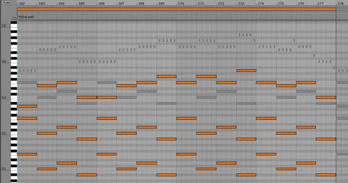 Write an edm melody with chords for your song by Jackwald