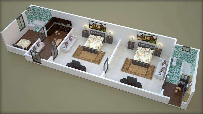 create best 3d floor plan