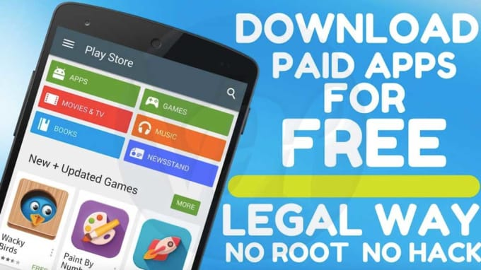 download your paid android app 100 percent safe