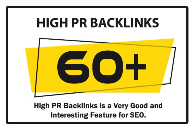 add 60 high PR dofollow backlinks, ping