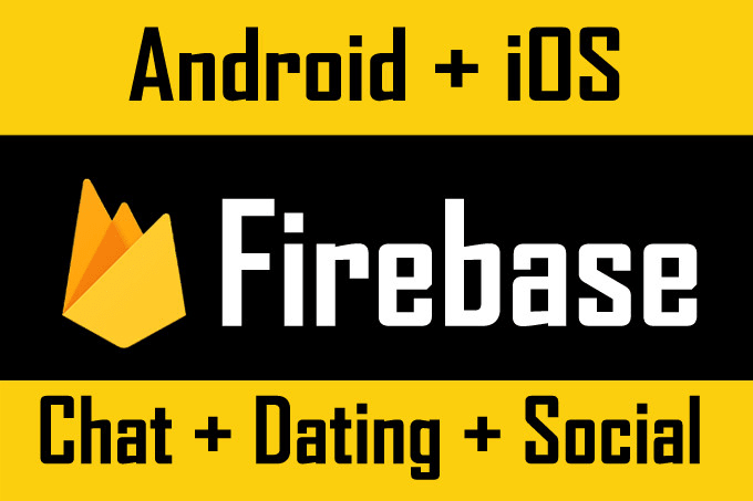 develop firebase android iphone ios apps