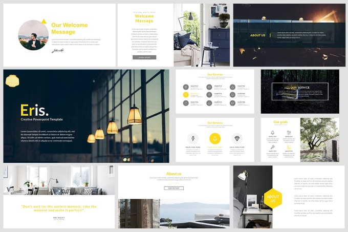 design clean and creative powerpoint presentation by wasimbabar818