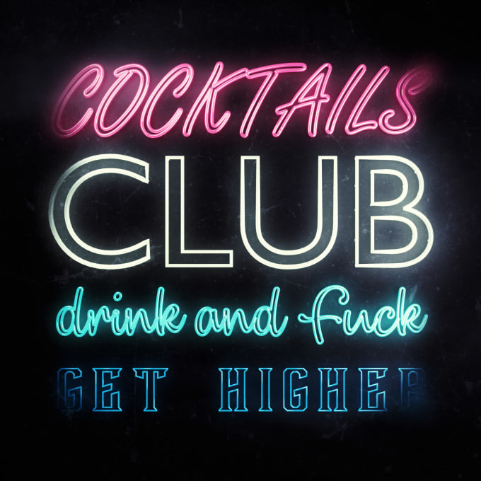 rubenespinel91 : I will make an amazing custom 3d neon text designs for $10  on www fiverr com