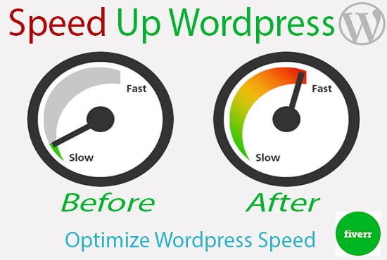 I will increase wordpress speed and optimize performance