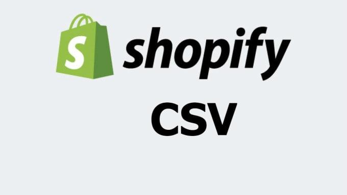 convert any vendor file into shopify CSV