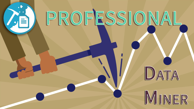 do professional web scraping, data mining, parsing