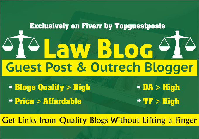 guest post on high quality law blog