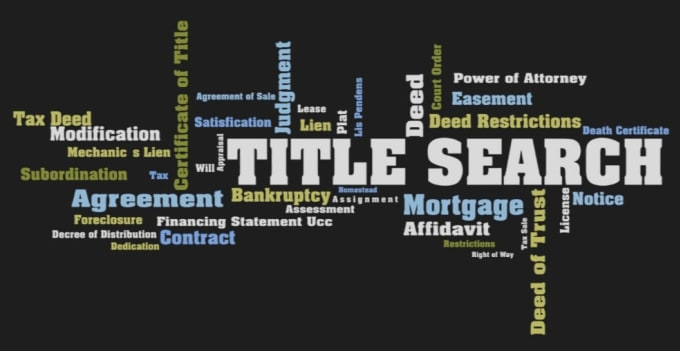 Do Title Search And I Am A Title Searcher In Title Industry By