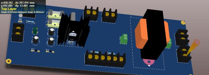 pcb layout , autocad, dialux