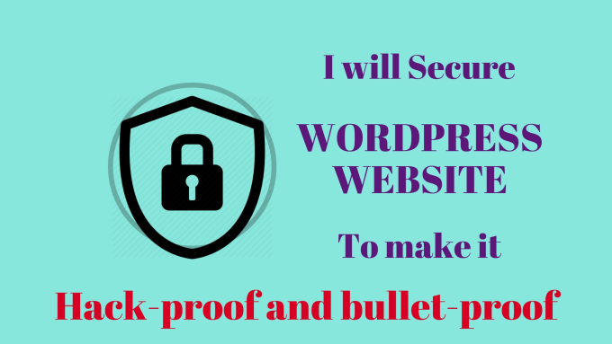 secure your wordpress website and fix a hacked site
