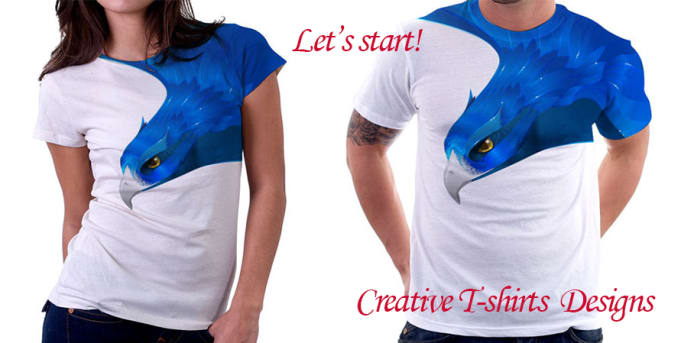 Creative tshirt design ideas by Emeraldluck