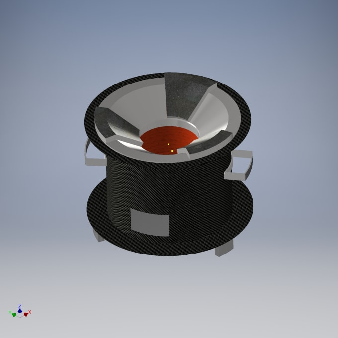 create a 3d model of your idea using autodesk inventor