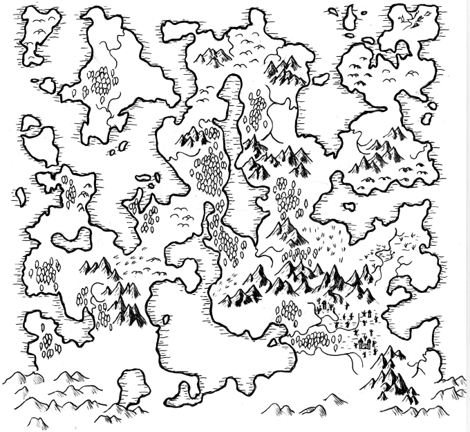 draw your dnd or fantasy map by pfefair