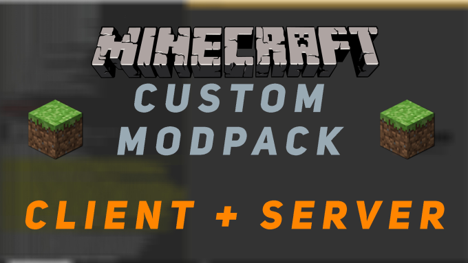 create a custom minecraft modpack for client and server