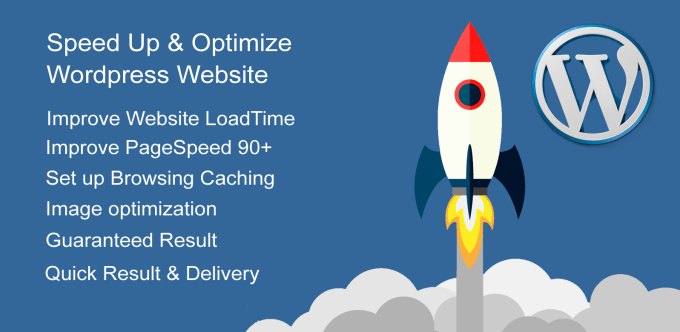 I will speed up and optimize your wordpress website
