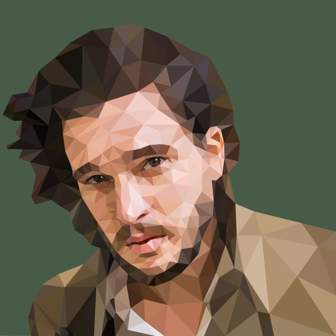 create professional low poly portrait for you by lenochka0245