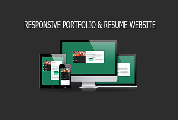 Create Professional Portfolio Or Resume Website