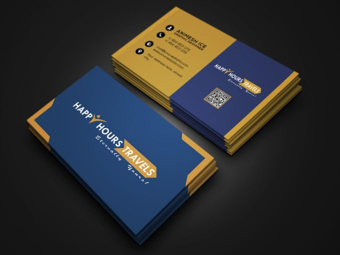 Design Simple Modern Business Card By Designw0rld