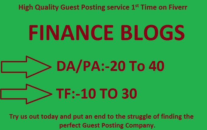 do Guest Post On My Quality Finance Blogs