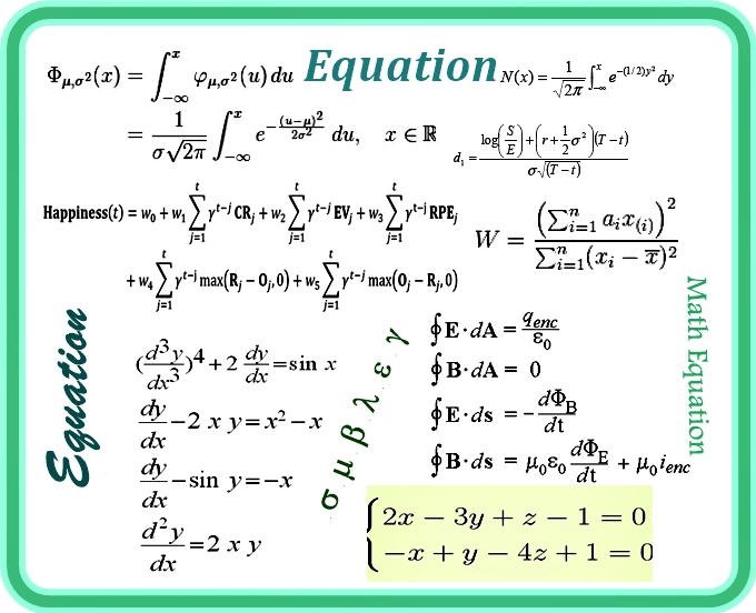 Type Math And Science Equations Functions And Symbols In Word Or