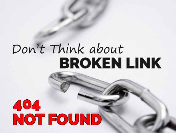 find all broken link