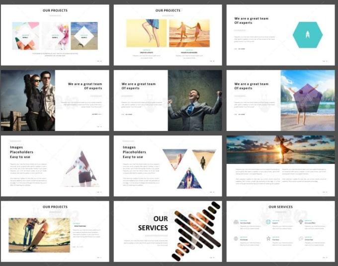 send you professional business powerpoint template by speedtree