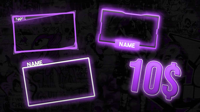 Design Proffesional Twitch Facecam Overlay By Vickoofficial