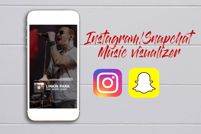 create an instagram story music visualizer for your song