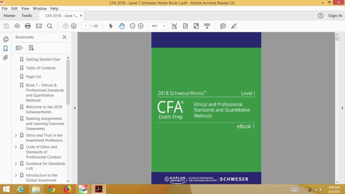 frm level 1 study material free download