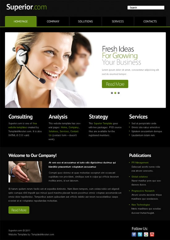 Design Landing Page Template And Wordpress Redesign For You By Webgod33